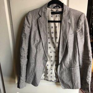 Zara linen blazer